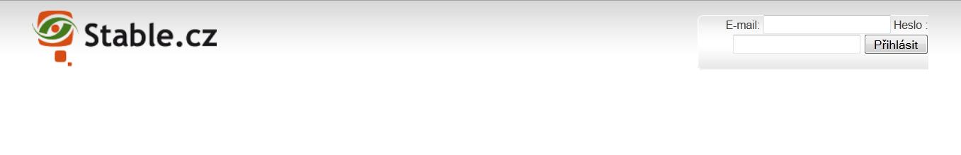 Přihlašovací stránka do mailadmin.stable.cz
