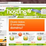 Ukázka webových stránek