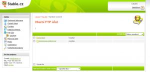 Jak najít složku backup. Webadmin.Stable.cz  - profesionální webhosting.